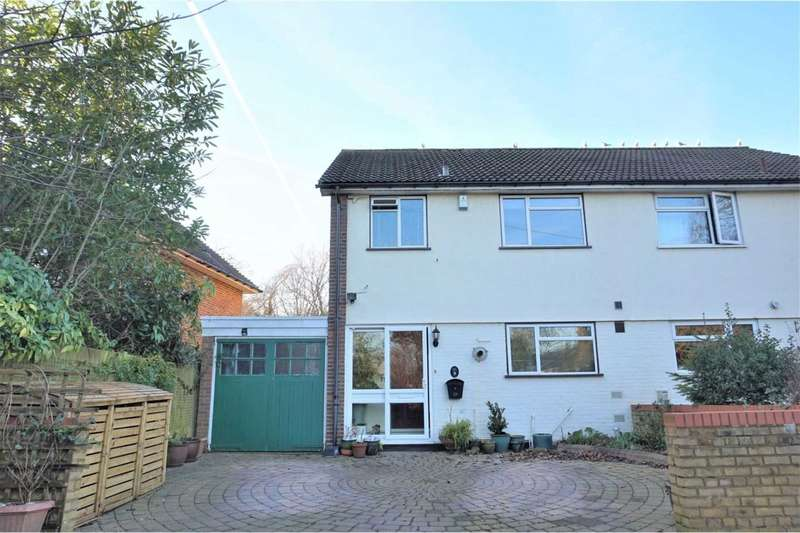 3 Bedrooms Semi Detached House for sale in High Road, Bushey Heath