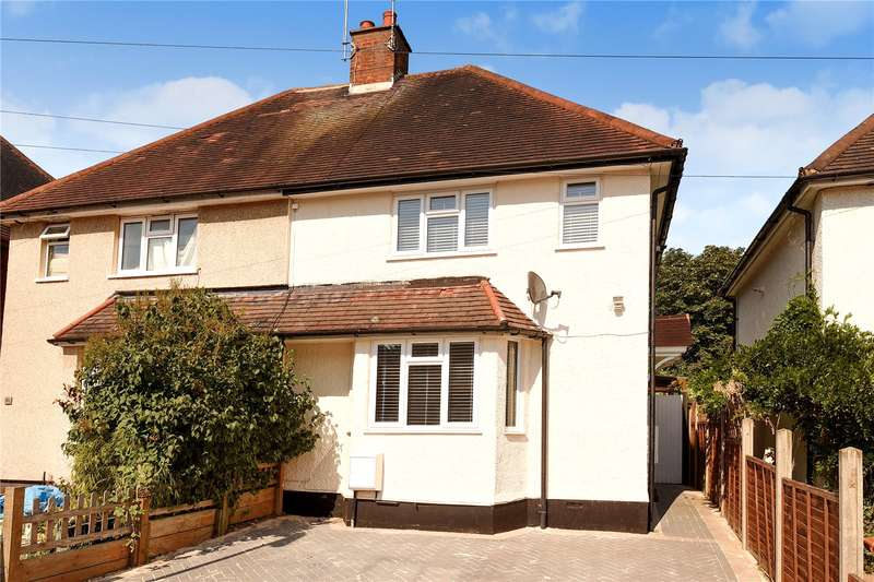 2 Bedrooms Semi Detached House for sale in Home Way, Mill End, Hertfordshire, WD3