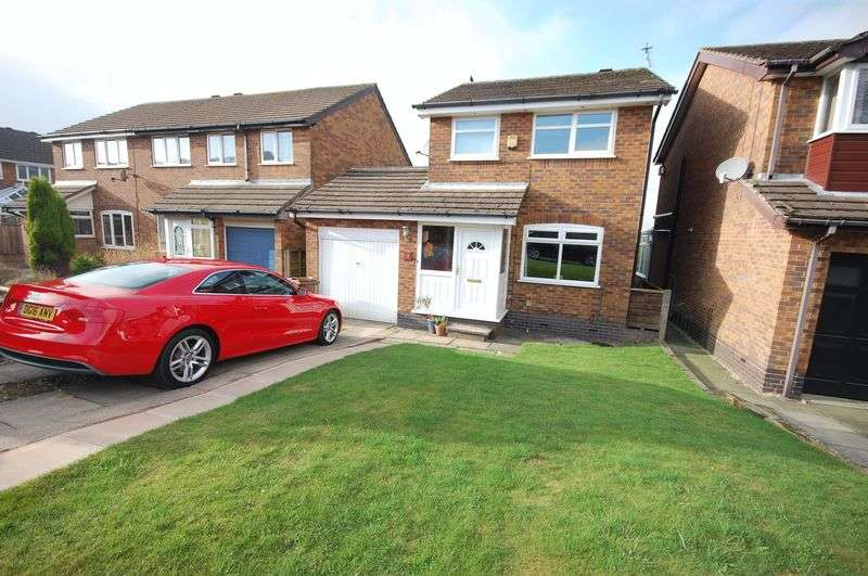 3 Bedrooms Detached House for sale in Appleton Drive, Glossop