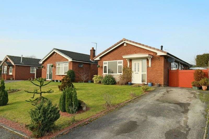 2 Bedrooms Detached Bungalow for sale in Telford Way, Audlem
