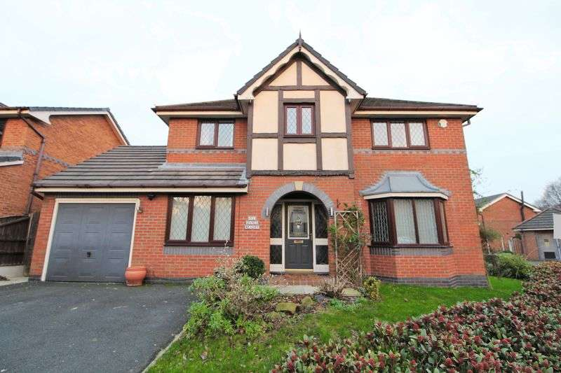 4 Bedrooms Detached House for sale in Janes Meadow, Tarleton, Preston