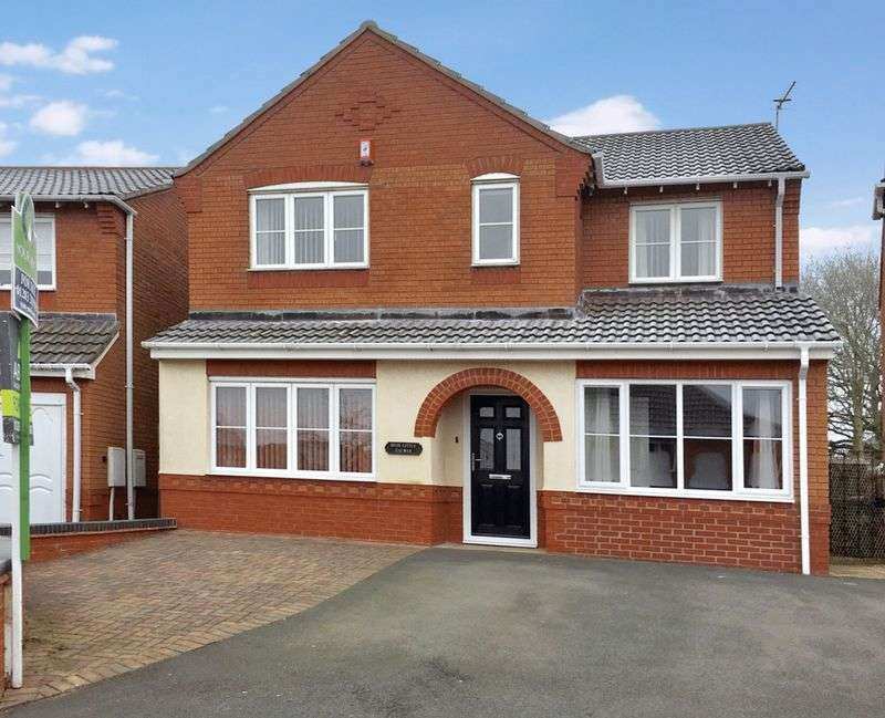 4 Bedrooms Detached House for sale in Ault Dene, Swadlincote, DE11 8JN
