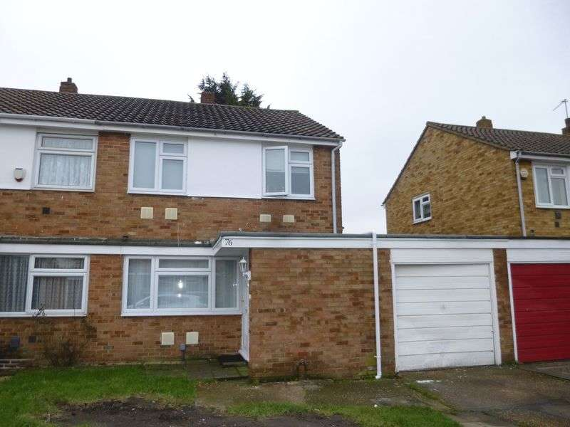 3 Bedrooms Semi Detached House for sale in Pennine Way, Harlington, Hayes