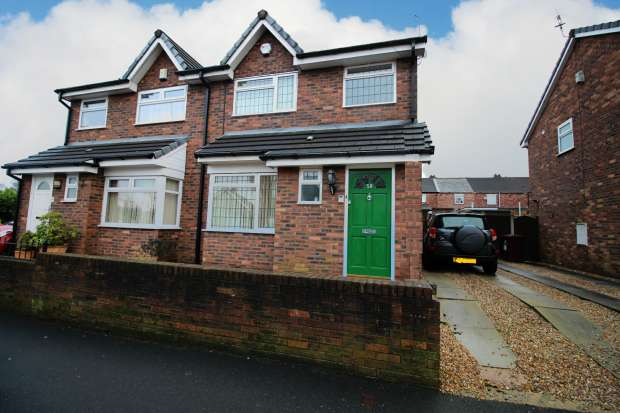 3 Bedrooms Semi Detached House for sale in Maryville Road, Prescot, Merseyside, L34 2TA