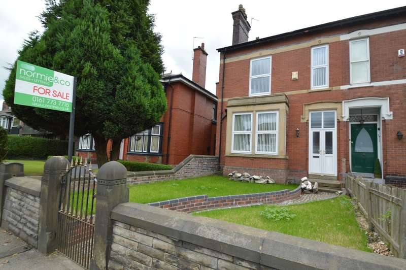 4 Bedrooms Semi Detached House for sale in Bury New Road, Whitefield, MANCHESTER, M45
