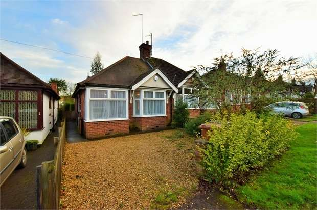 2 Bedrooms Semi Detached Bungalow for sale in Bants Lane, NORTHAMPTON