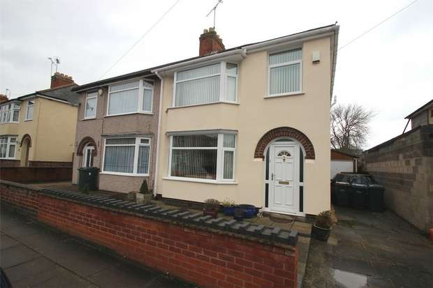 3 Bedrooms Semi Detached House for sale in Balliol Road, Wyken, Coventry