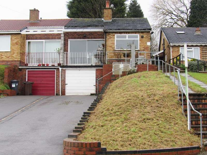 2 Bedrooms Semi Detached Bungalow for sale in Walford Drive, Solihull