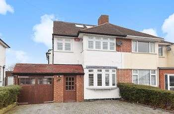 4 Bedrooms Semi Detached House for sale in Domonic Drive, New Eltham / Chislehurst Borders, London, SE9 3LL