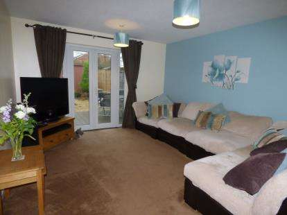 2 Bedrooms Terraced House for sale in Cranham Close, Abbeymead, Gloucester, Gloucestershire