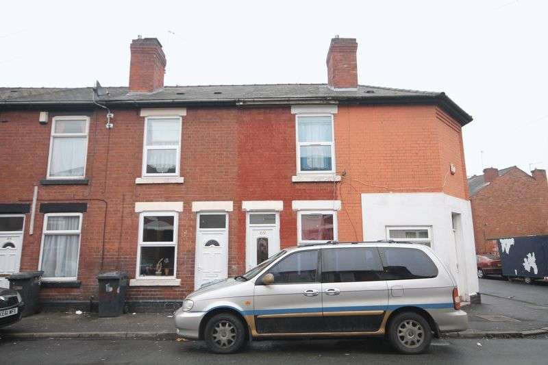 3 Bedrooms Terraced House for sale in HOLCOMBE STREET, DERBY