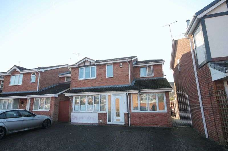 4 Bedrooms Detached House for sale in CLOVERDALE WAY, SINFIN.