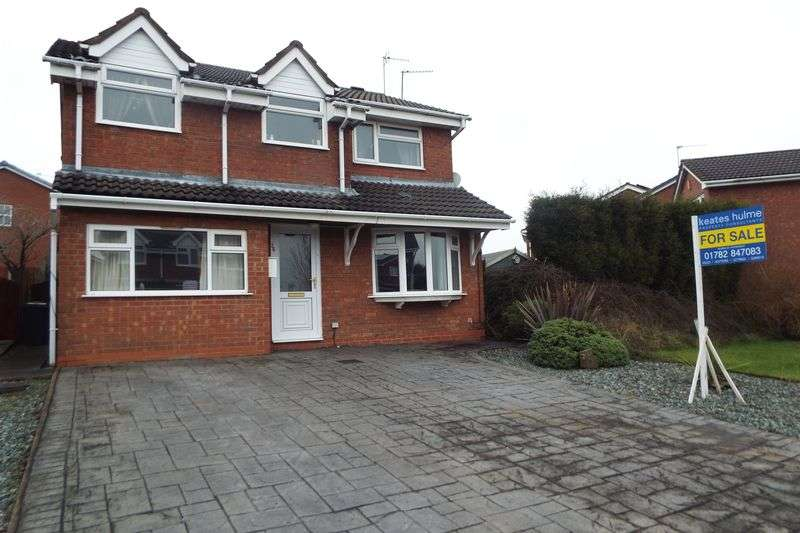 4 Bedrooms Detached House for sale in Wimberry Drive, Waterhayes, Newcastle