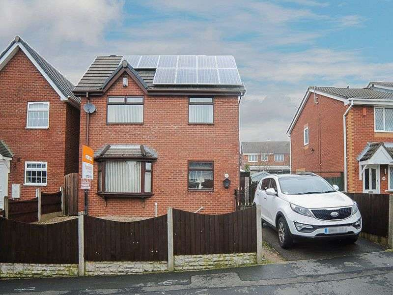 3 Bedrooms Detached House for sale in Forrister Street, Meir Hay, Stoke-On-Trent, ST3 5XF