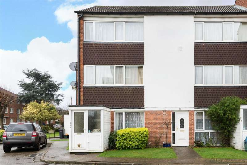 2 Bedrooms Maisonette Flat for sale in Edgecumbe Court, Ashburton Road, Croydon