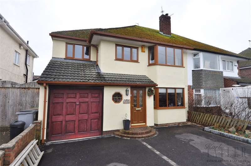 4 Bedrooms Semi Detached House for sale in Frankby Road, West Kirby, Wirral