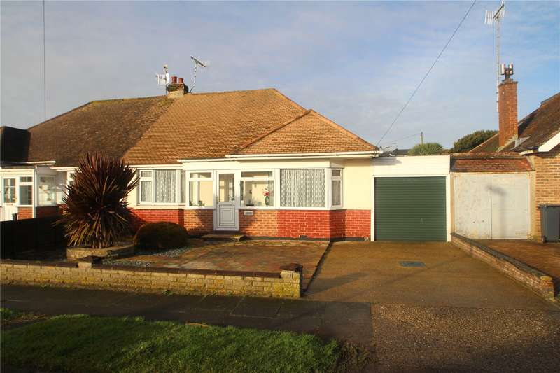 2 Bedrooms Semi Detached Bungalow for sale in Greet Road, Lancing, West Sussex, BN15