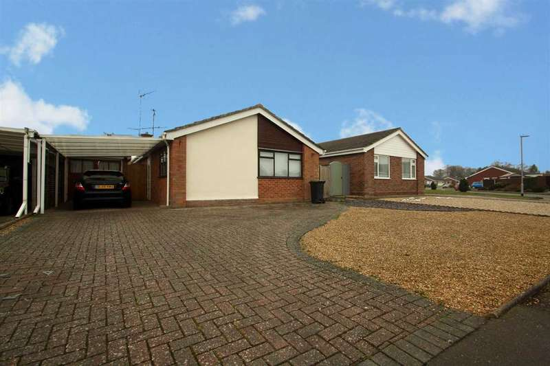 2 Bedrooms Bungalow for sale in Leggatt Drive, Bramford