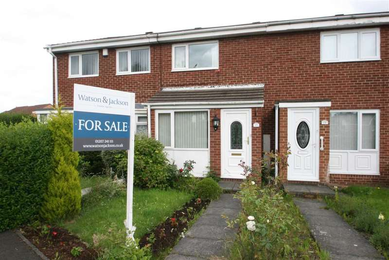 2 Bedrooms Terraced House for sale in Worsley Close, Wallsend, Newcastle Upon Tyne