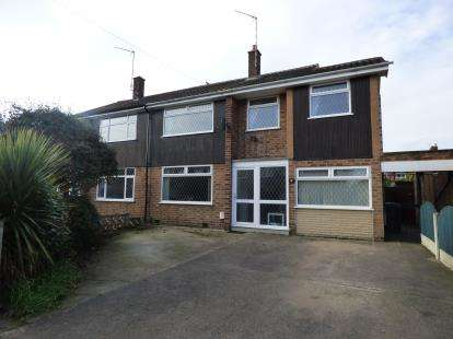 4 Bedrooms Semi Detached House for sale in Haddon Crescent, Beeston, Nottingham