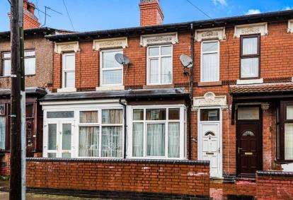 3 Bedrooms Terraced House for sale in Farnham Road, Handsworth, Birmingham, West Midlands