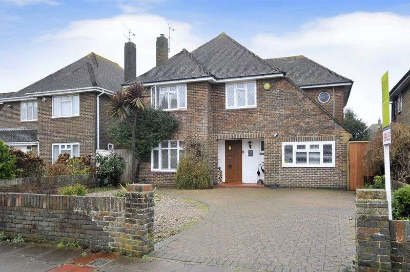 5 Bedrooms Detached House for sale in Withdean Avenue, Goring Hall