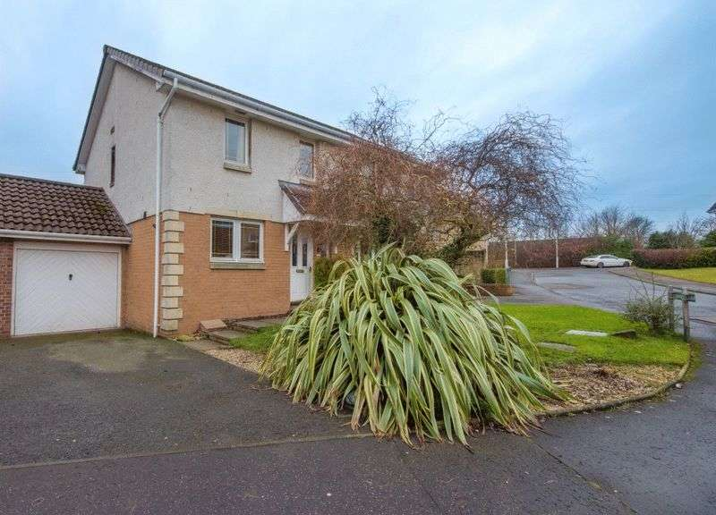 3 Bedrooms Semi Detached House for sale in Arniston Road, Dunfermline
