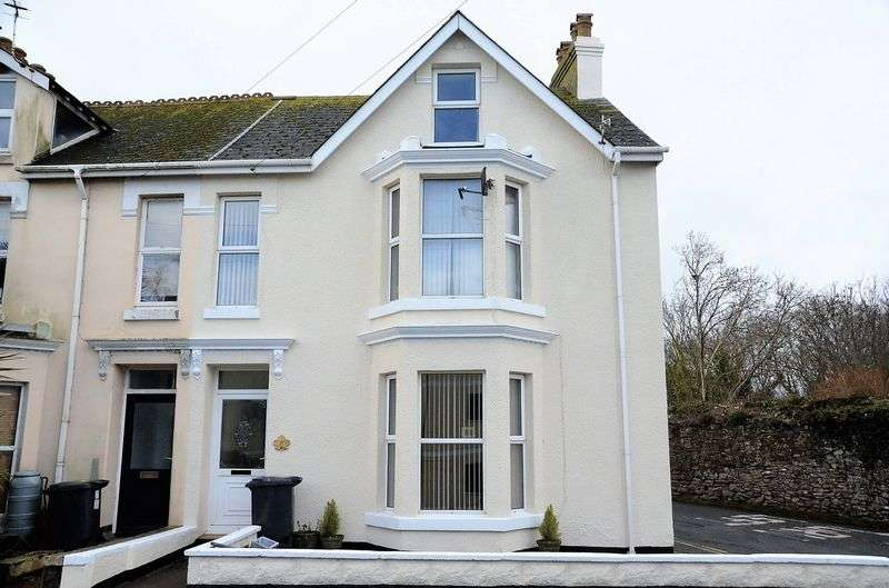 5 Bedrooms Terraced House for sale in HIGHER FURZEHAM ROAD, BRIXHAM