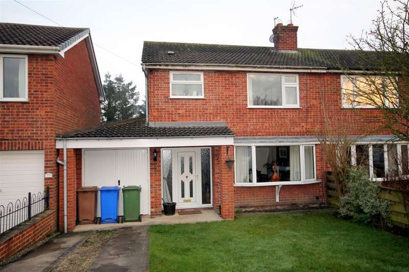 3 Bedrooms Semi Detached House for sale in High Catton Road, Stamford Bridge, York, YO41 1DL