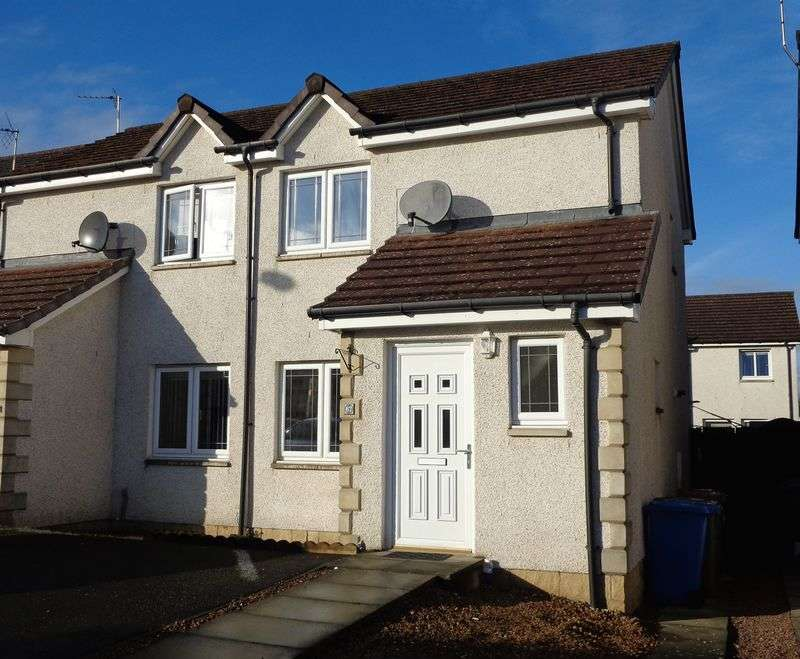 2 Bedrooms Semi Detached House for sale in 67 Smithfield Meadows, Alloa