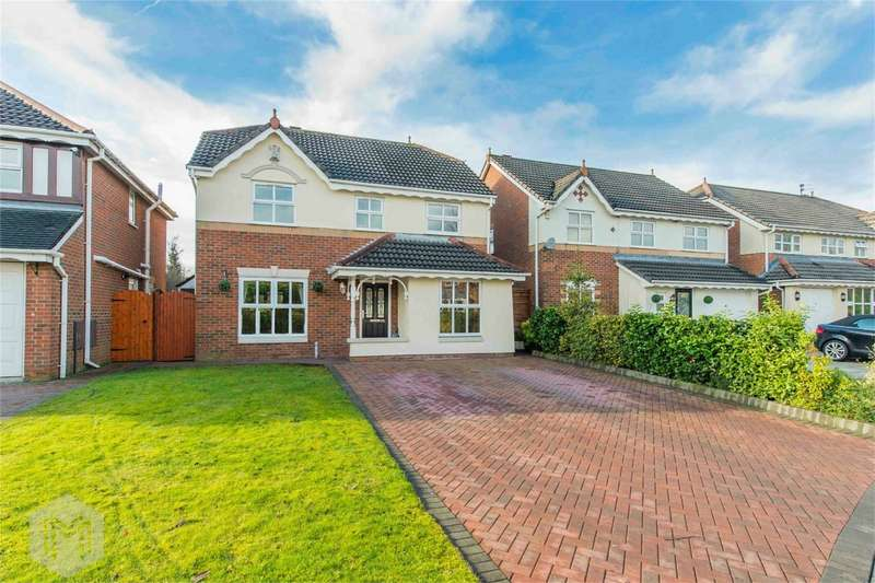 4 Bedrooms Detached House for sale in Reedley Drive, Worsley, Manchester