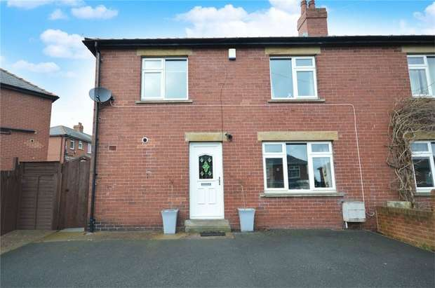 3 Bedrooms Semi Detached House for sale in Windmill Crescent, Skelmanthorpe, HUDDERSFIELD, West Yorkshire