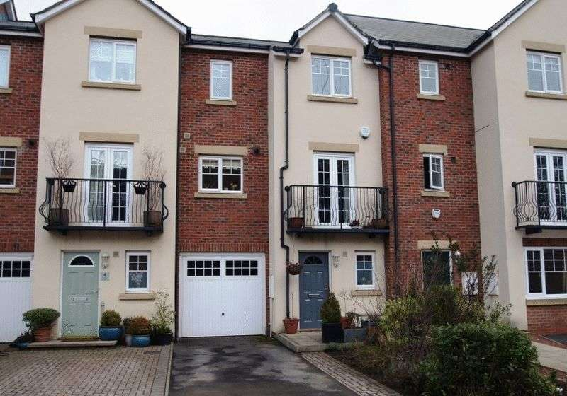 4 Bedrooms Terraced House for sale in Faraday Court, Durham