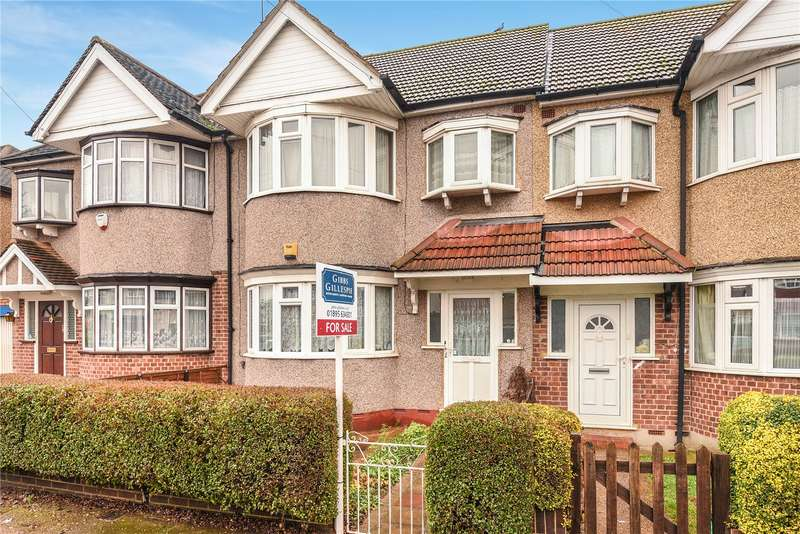 3 Bedrooms Terraced House for sale in Victoria Road, Ruislip Manor, Middlesex, HA4