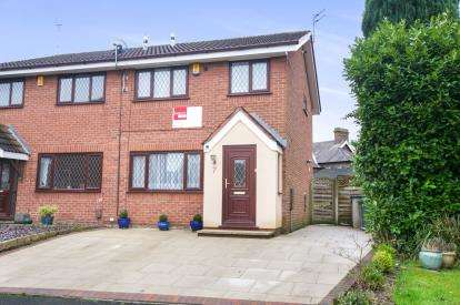 3 Bedrooms Semi Detached House for sale in Mardon Close, Knutsford, Cheshire