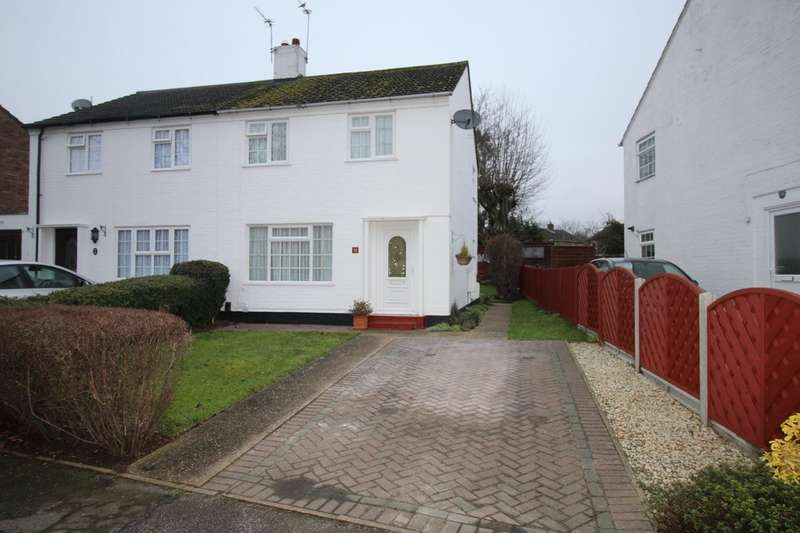 3 Bedrooms Semi Detached House for sale in Boundary Lane, Welwyn Garden City