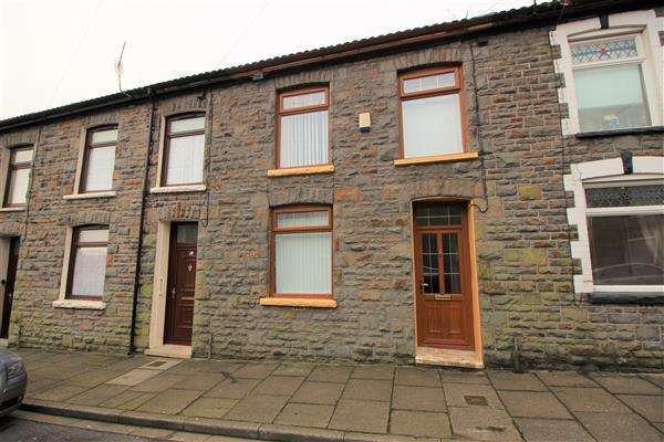 3 Bedrooms Terraced House for sale in Penmaesglas Terrace, Penygraig, Tonypandy