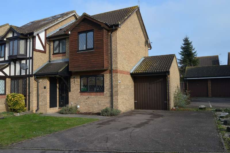 2 Bedrooms Semi Detached House for sale in Jacobs Avenue, Harold Wood