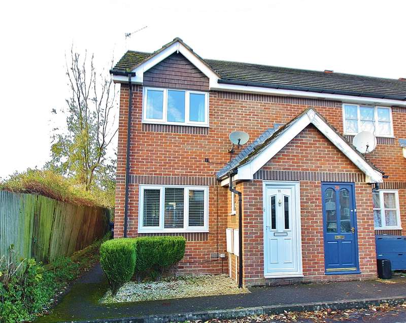 2 Bedrooms End Of Terrace House for sale in Bloomfield Close, Knaphill, Woking, Surrey, GU21