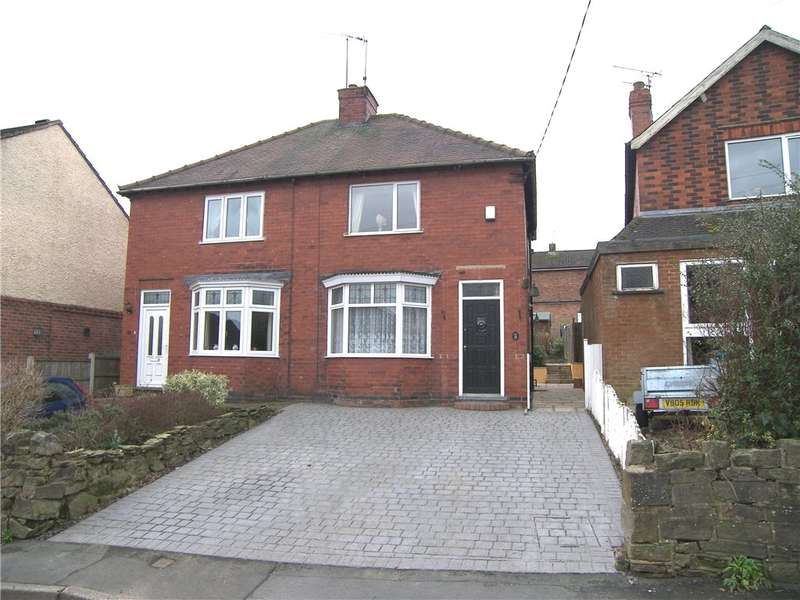 3 Bedrooms Semi Detached House for sale in Shop Lane, Nether Heage, Belper, Derbyshire, DE56