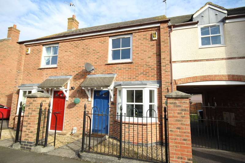2 Bedrooms Terraced House for sale in Cooks Road, Fairford Leys