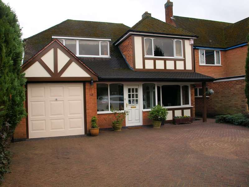 4 Bedrooms Detached House for sale in Yewhurst Road, Solihull
