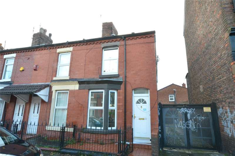2 Bedrooms End Of Terrace House for sale in Spofforth Road, Liverpool, Merseyside, L7