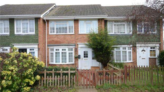 3 Bedrooms Terraced House for sale in Hambleden Walk, Maidenhead, Berkshire