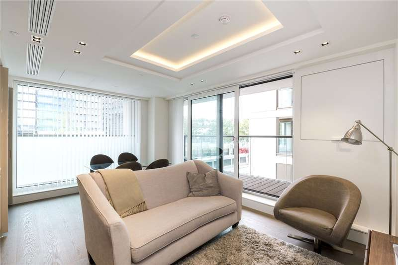 2 Bedrooms Flat for sale in Bridgeman House, 1 Radnor Terrace, London, W14