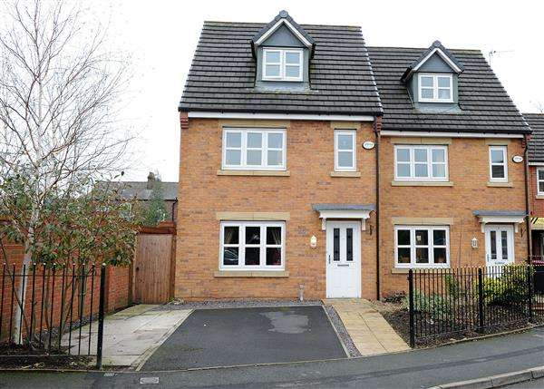 4 Bedrooms Town House for sale in 1 Mariners Way, Irlam, M44 6GN