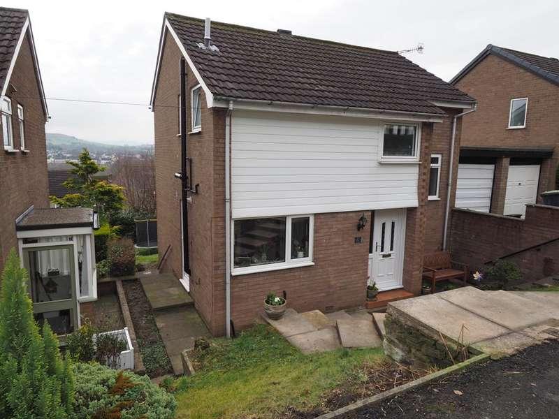 3 Bedrooms Link Detached House for sale in White Road, New Mills, High Peak, Derbyshire, SK22 4EL
