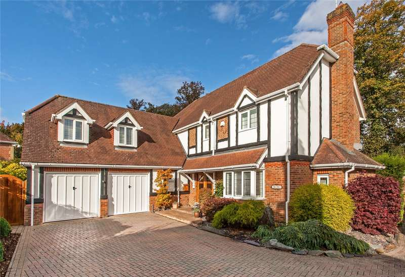 5 Bedrooms Detached House for sale in Cliddesden Court, Basingstoke, Hampshire, RG21