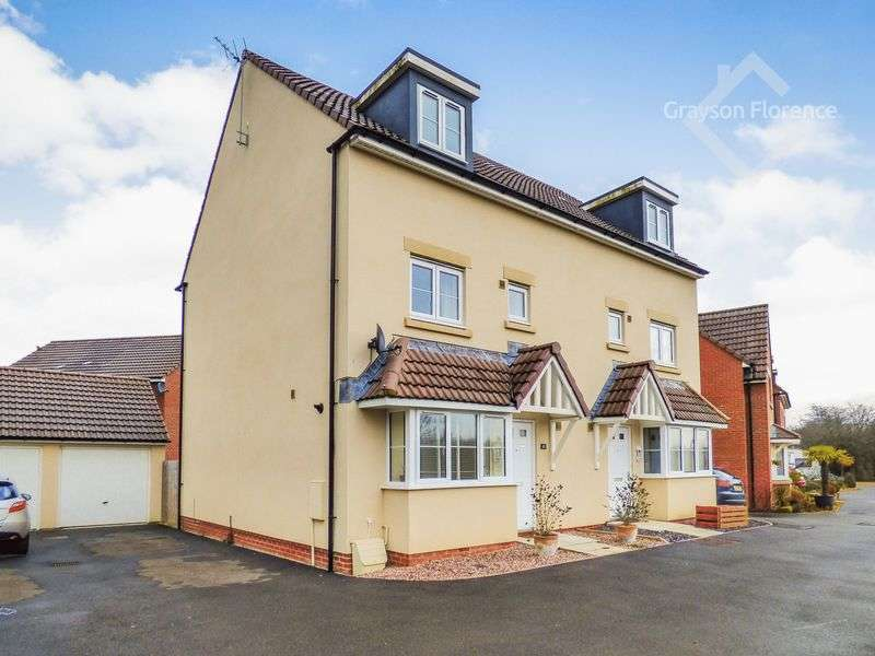 4 Bedrooms Semi Detached House for sale in Ferris Way, Hilperton
