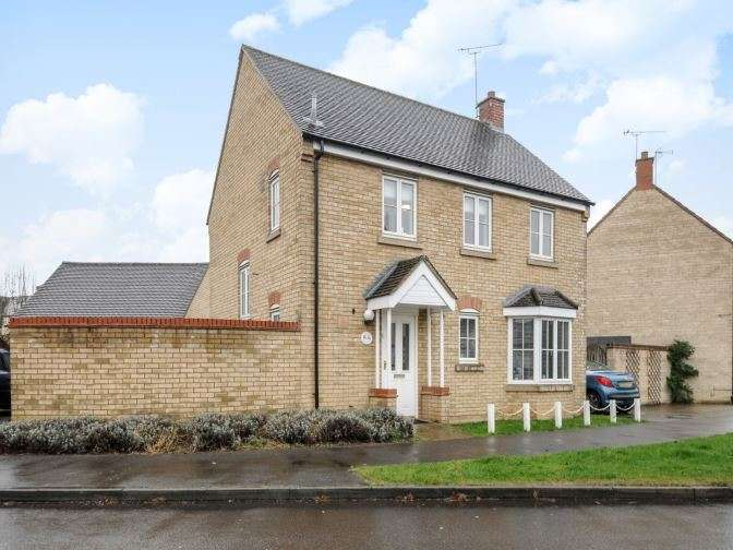 4 Bedrooms Detached House for sale in Corncrake Way, Langford Village, OX26 6UE